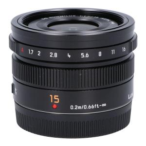 PANASONIC DG SUMMILUX15mm F1.7ASPH