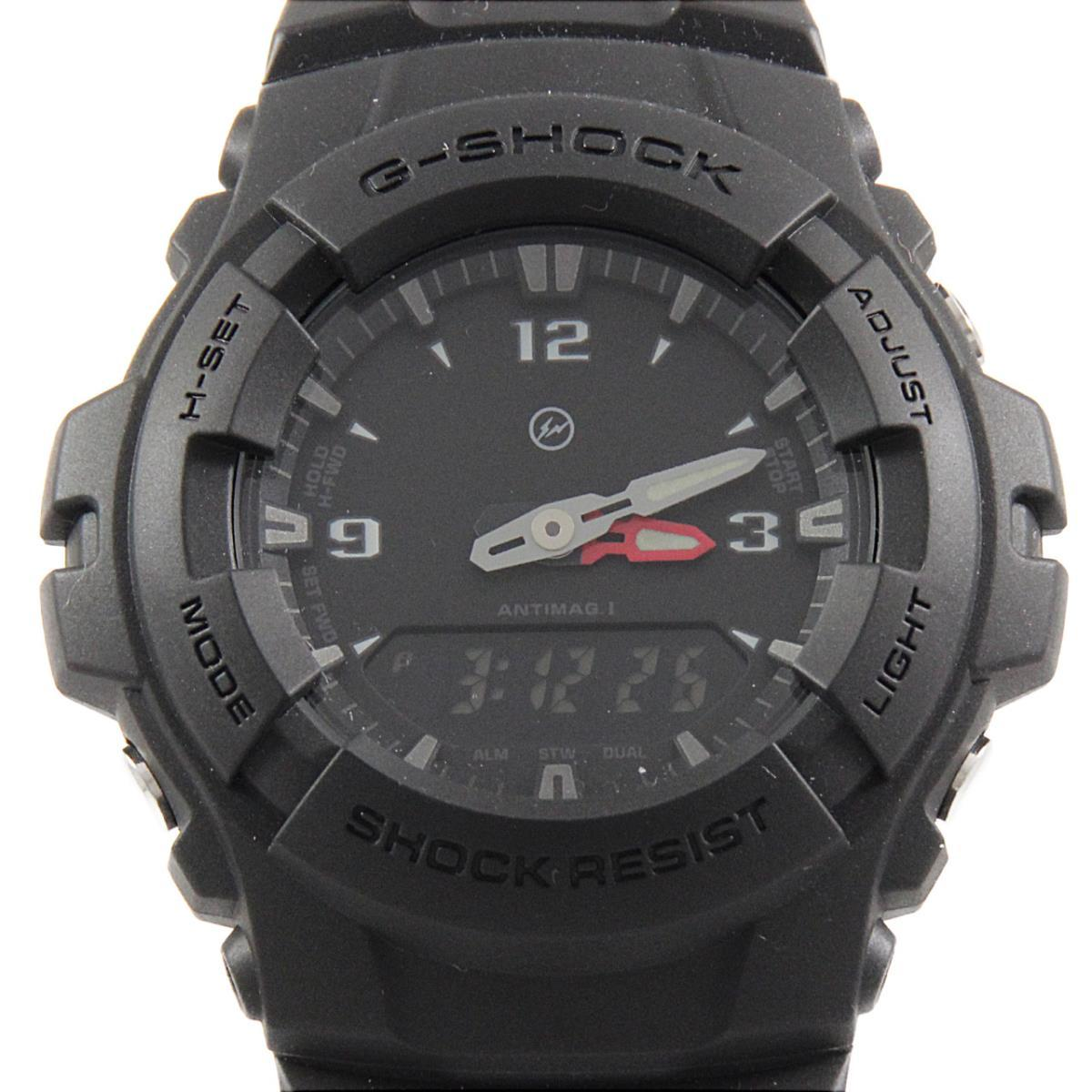 カシオ G-100-1BJF G-SHOCK・FRAGMENT クォーツ