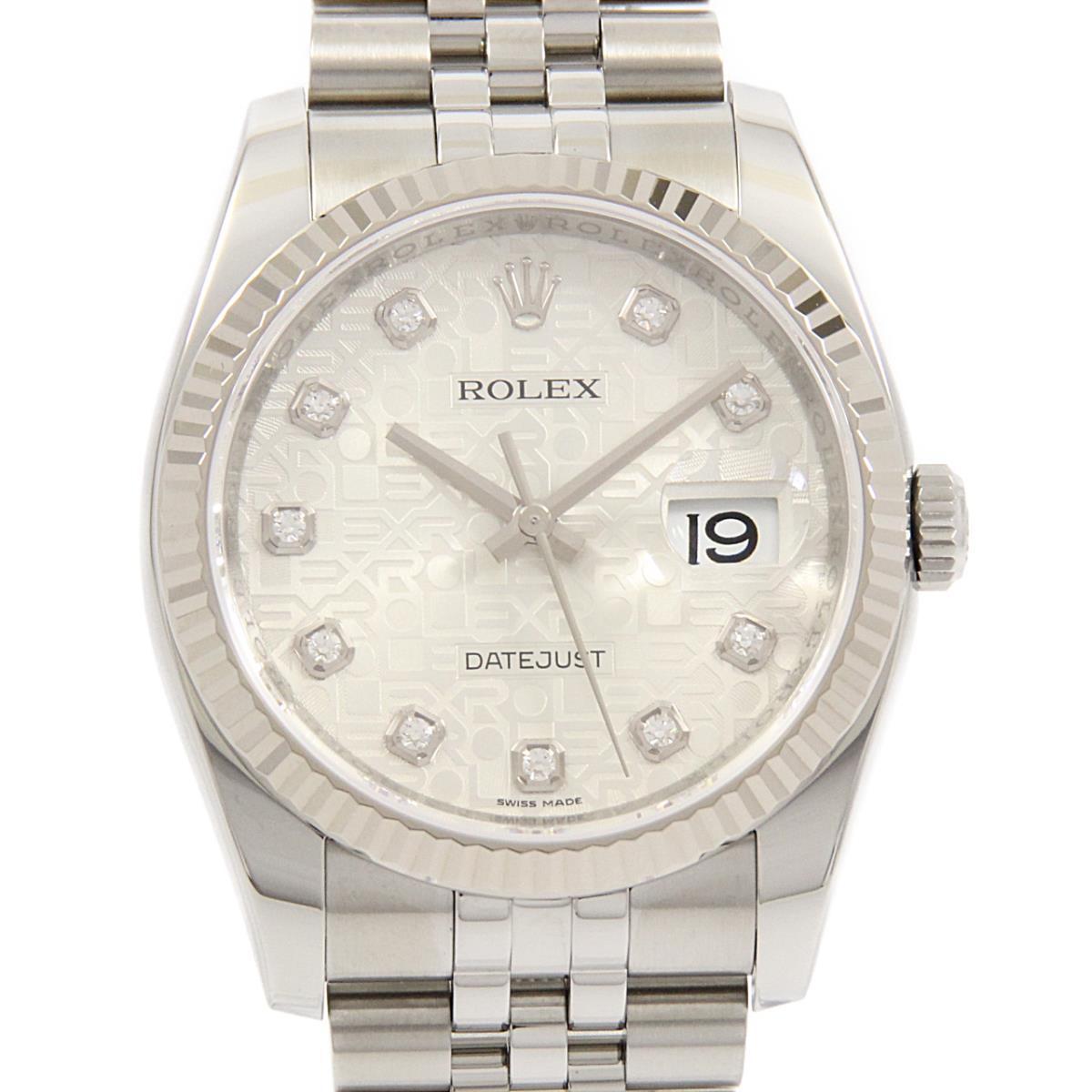ロレックス 116234G デイトジャスト SS