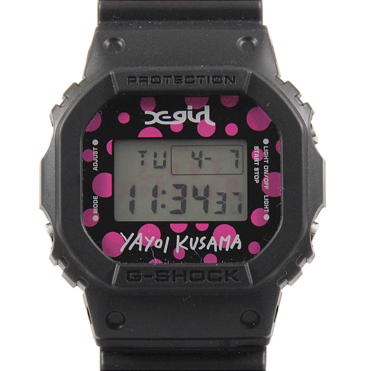 カシオ DW-5600VT G-SHOCK・x-girl×YAYOI KUSAMA クォーツ
