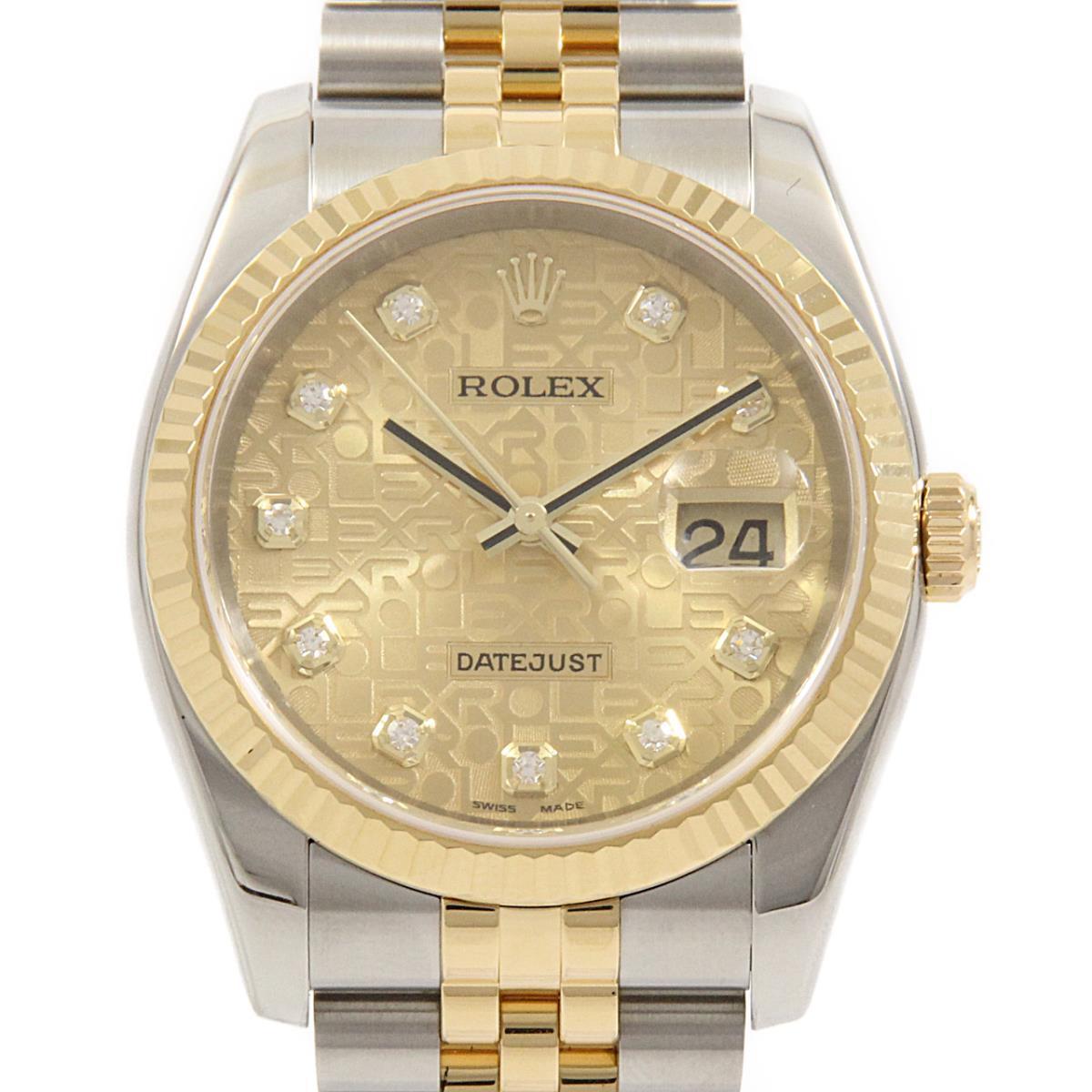 ロレックス 116233G デイトジャスト SS