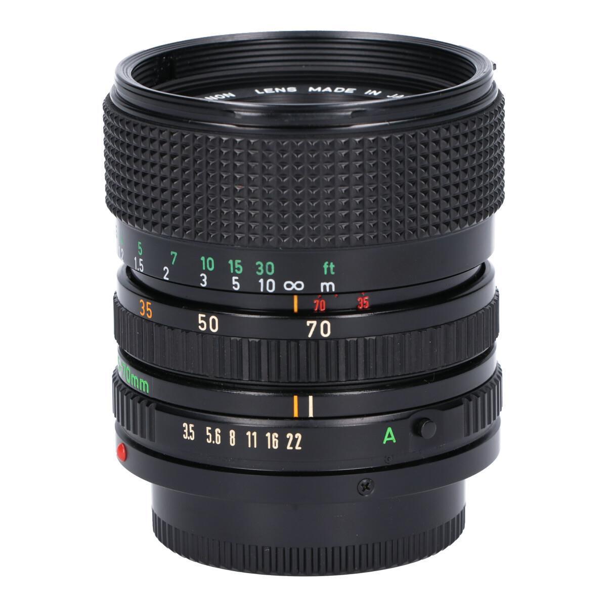 CANON NEW FD35-70mm F3.5-4.5