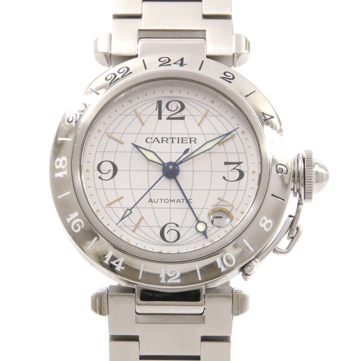 カルティエ W31029M7 パシャC GMT 自動巻