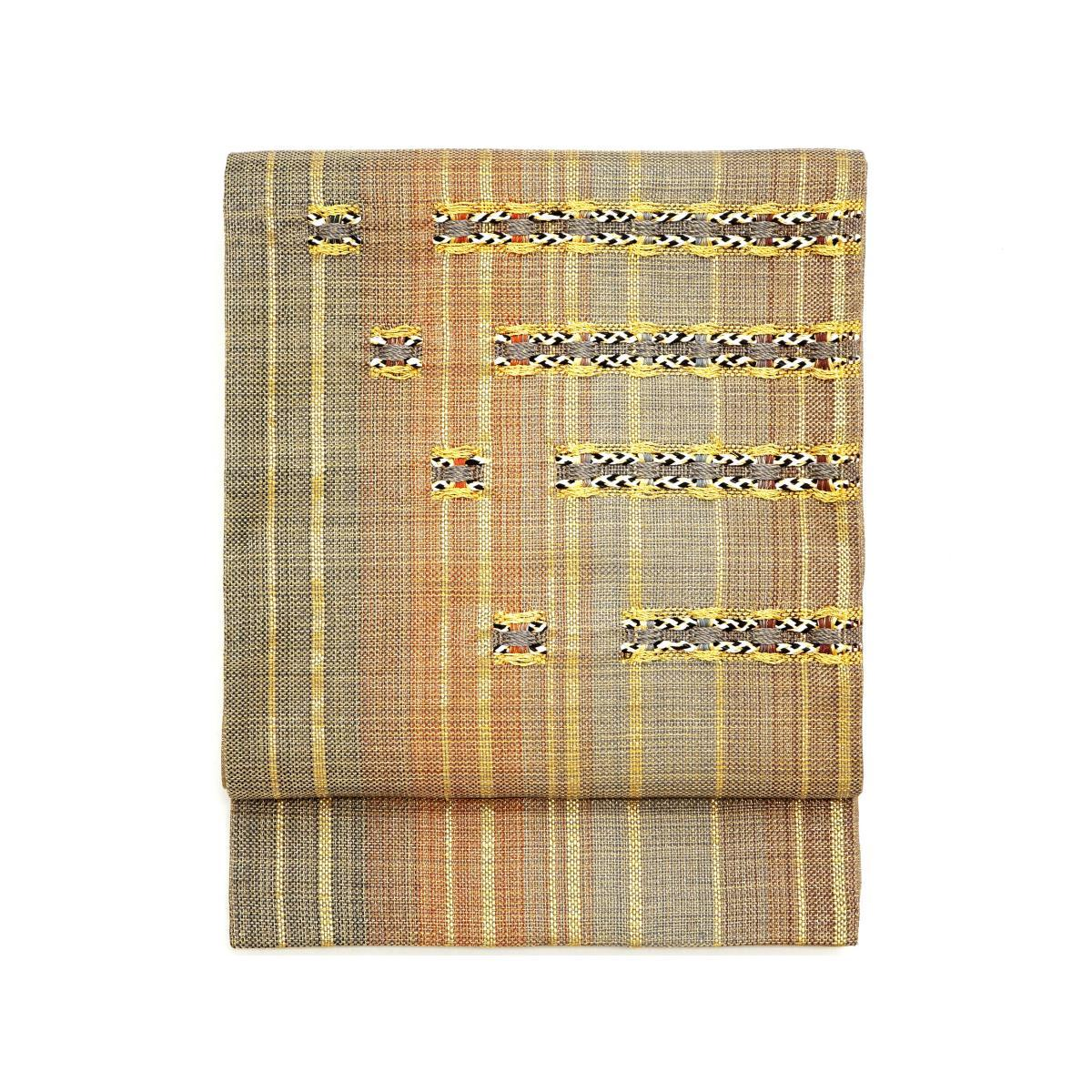 【未使用品】袋帯 組糸織